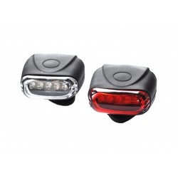bike light  Jing Yi JY-267-5 silicone, with battery