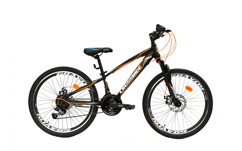 Bicycle CROSSRIDE 24 MTB ST SPARK, CROSSRIDE, MTB bicycles.