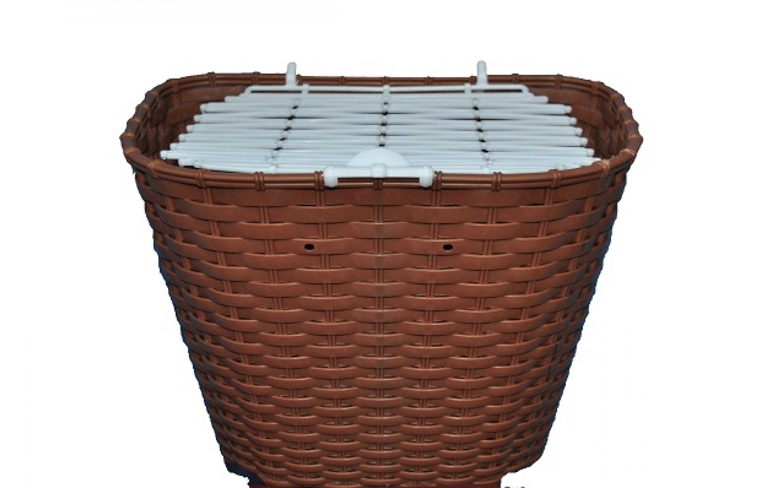 Basket 26 VERONA plastic wicker brown , ARDIS, Baskets.