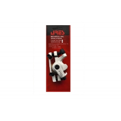 Brake disk Ares MDA08 non rotor front white IS-type