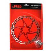 Ротор disk Ares 180мм SG18, червоний