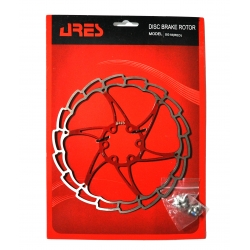Rotor disk Ares 180mm SG18, red