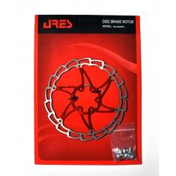 Ротор disk Ares 160мм SG16, червоний