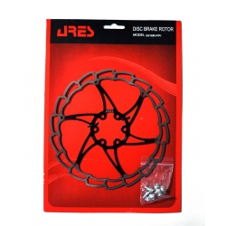 Rotor disk Ares 180mm SG18, black