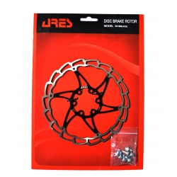 Rotor disk Ares 160mm SG16, black