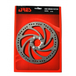 Rotor disk Ares 180mm SA18B, with nut