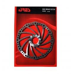 Rotor disk Ares 180mm SC18B, with nut