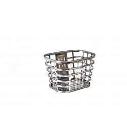 "Basket Ardis JL-CK104 on the steering wheel is a 28 ""mini silver metal mesh"