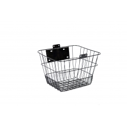 Basket Ardis JL-CK095 on a rudder metal wire mesh with fastening black