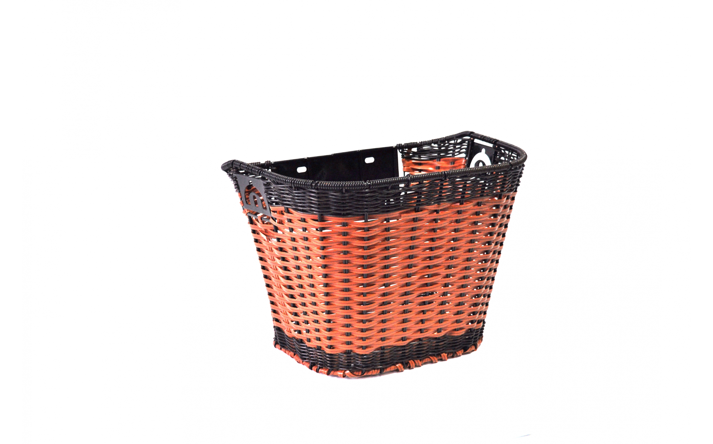 Basket Ardis JL-CK101 on a stick of plastic braided with a bracket brown