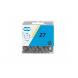 Chain KMC 7sp Z50 grey/brown 1/2x3/32x116L