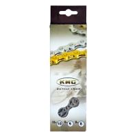 Ланцюг KMC 8sp X8 срібна 1/2x3/32x116L, KMC chains.