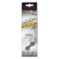 Ланцюг KMC 9sp X9 срібна 1/2x11/128x116L, KMC chains.