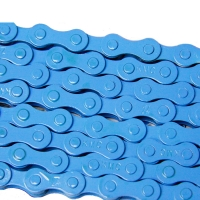 Ланцюг KMC 1sp Z410A blue 1/2x1/8x112L, KMC chains.