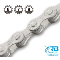 "Ланцюг KMC 7sp Z51RB ""rust buster"" 1/2x3/32x116L, KMC chains."