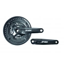 Шатун Prowheel MA P503+ 150мм 42х34х24T чорний
