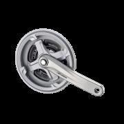 Шатун Prowheel AL 24/34/42Tx170мм, сріблястий, ТА-СМ68