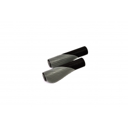 Ручки керма CROSSRIDE 135мм CR-G303-1 чорно-сірі