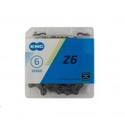 Chain KMC 6sp Z30 brown 1/2x3/32x116L