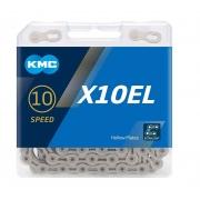Ланцюг KMC 10sp X10-EL silver 1/2x11/128x114L