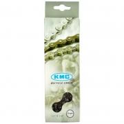 Chain KMC Z410ARB 1 / 2х1 / 8х112L gray, 1