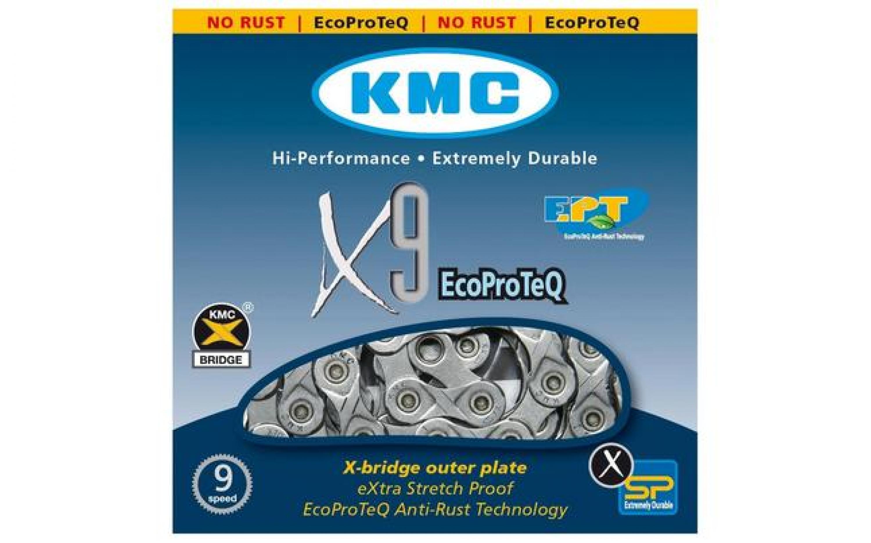 Chain of KMC X9-EPT 1 / 2х11 / 128х116L, 9