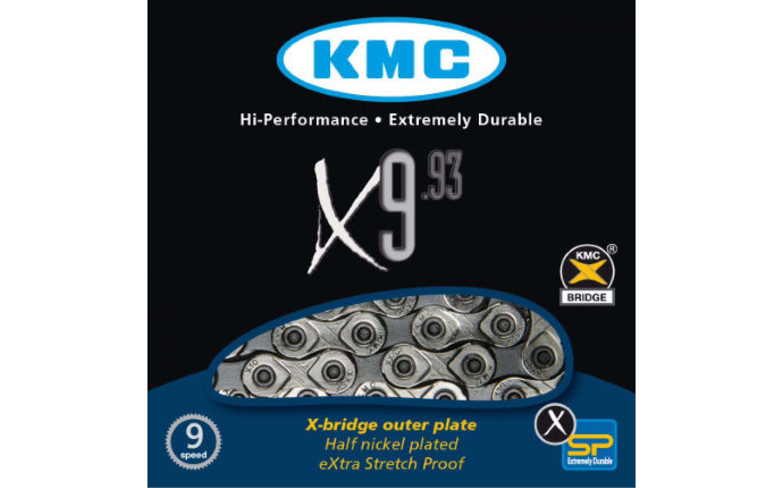 Chain KMC X9.93 1 / 2х11 / 128h116L, 9