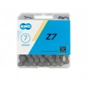 Ланцюг KMC 7sp Z51 коричнева 1/2x3/32x116L