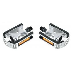 "Pedals Feimin MTB 9/16"" silver-black, FP-920B"