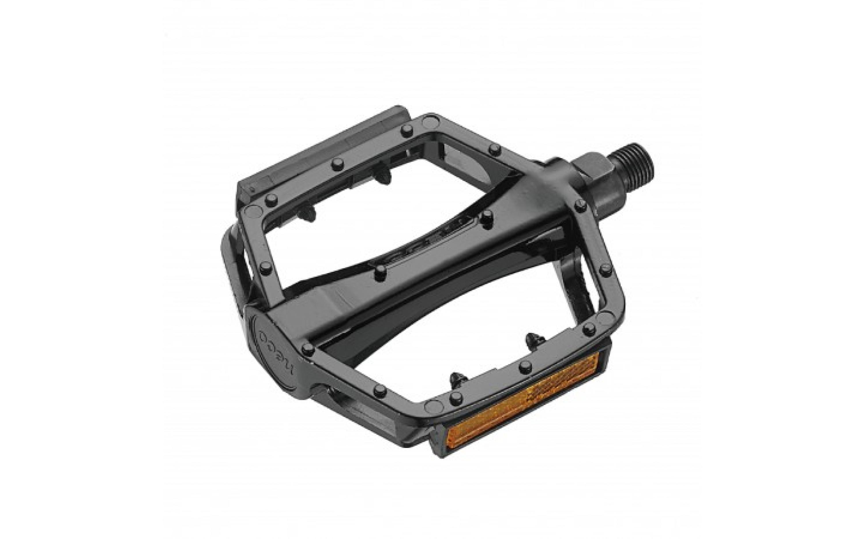 Pedals Neco aluminum black 108х100mm, WP303