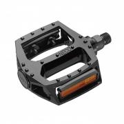 Pedals Neco aluminum black 103х100mm, WP313