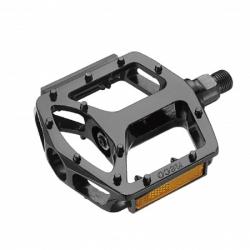 Pedals Neco aluminum black 112х108mm, WP916