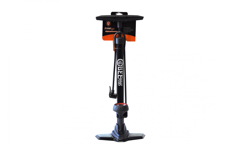 Floor pump BEE P38V-02 with pressure gauge