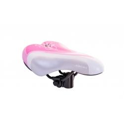 Сідло дит. Baisike 240x140мм рожево-біле, N63-3