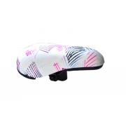 Сідло дит. Baisike 235х155 біло-рожеве №910