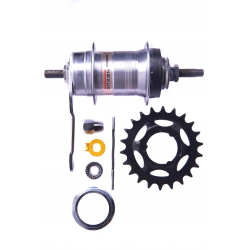 Shimano rear 14Gx36Hx22Т, 3 speed silver NEXUS SG-3C41