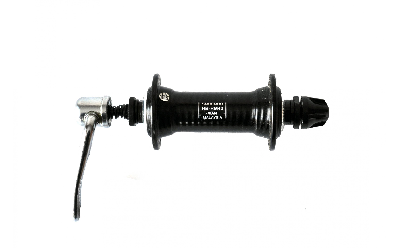 Shimano  front. 14Gx36H QR, black, HB-RM40