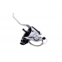 Шифтер Shimano Tourney ST-EF51 8 шв. + тросик сріблястий, SHIMANO