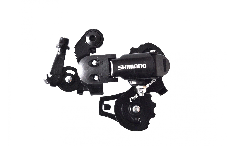 Перемикач Shimano задн. Tourney RD-FT35-A, 6/7 швидкостей, чорний
