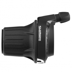 Гріпшифт Shimano Tourney SL-RV200-LN 3 шв, лівий 1800мм, non-index, чорний