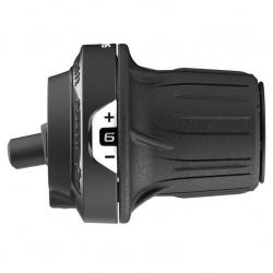 Гріпшифт Shimano Tourney SL-RV200-6R 6 шв, правий 2400мм, non-index, чорний