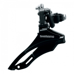Перемик. перед. Shimano Tourney FD-TZ30 н.тяга 28,6мм 42T, non-i
