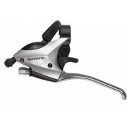 Шифтер Shimano Tourney ST-EF50 3 шв. + тросик сріблястий