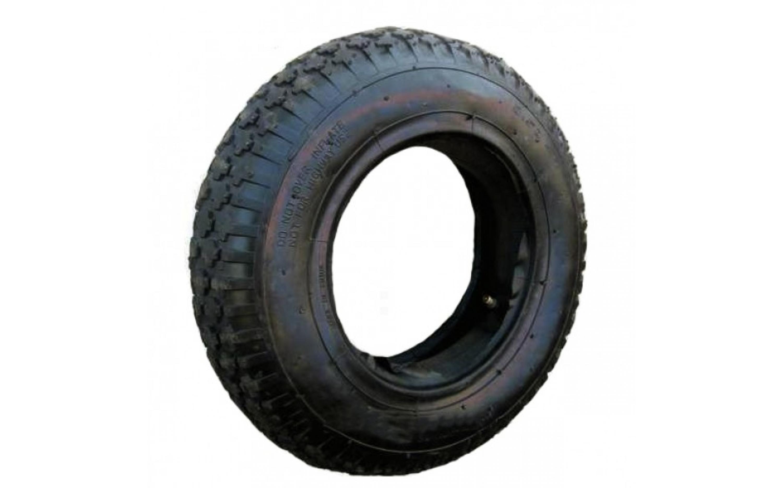 Tire + tube to wheelbarrow DESHU 4,00-8