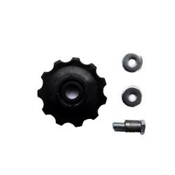 Jockey wheel plastic 11Т