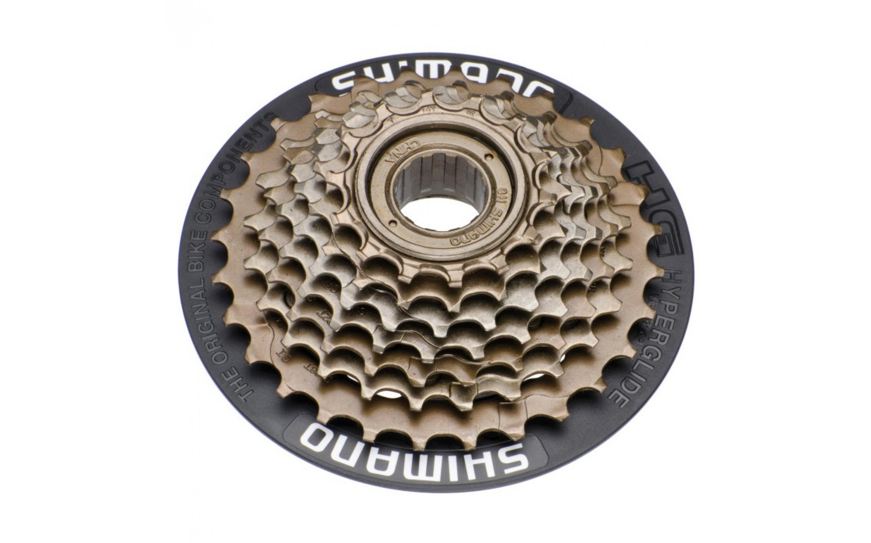 Freewheel SHIMANO 7sp.MF-TZ21CP, , Cassette and freewheel.