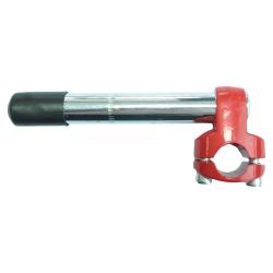Винос SL-PJ-304B СТ 22,2х25,4х150мм чорн. з червоною АЛ головкою
