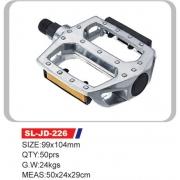"""Педалі SL-JD-226 AL 9/16"""" без рефлекторів"""