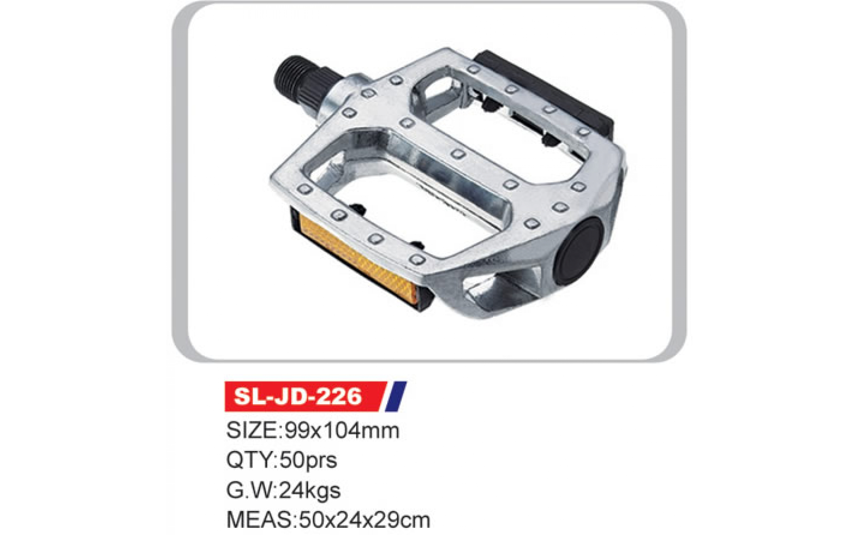 """Педалі SL-JD-226 AL 9/16"""" без рефлекторів, ARDIS, Pedals."""