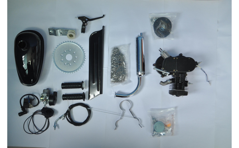 Bicycle engine 66cc, black, ARDIS, Bicycle gas engine.